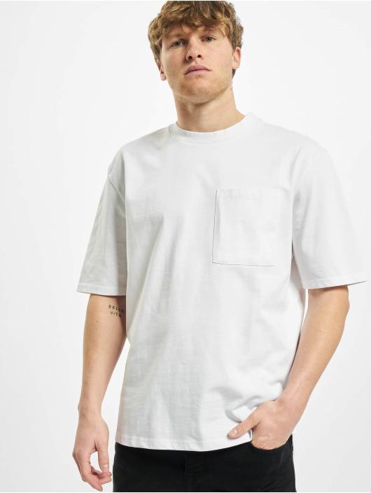 Urban Classics T-Shirty Heavy Boxy Pocket Tee bialy