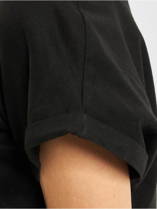 Urban Classics T-Shirty Extended Shoulder czarny