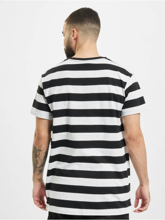 Urban Classics T-Shirty Block Stripe czarny