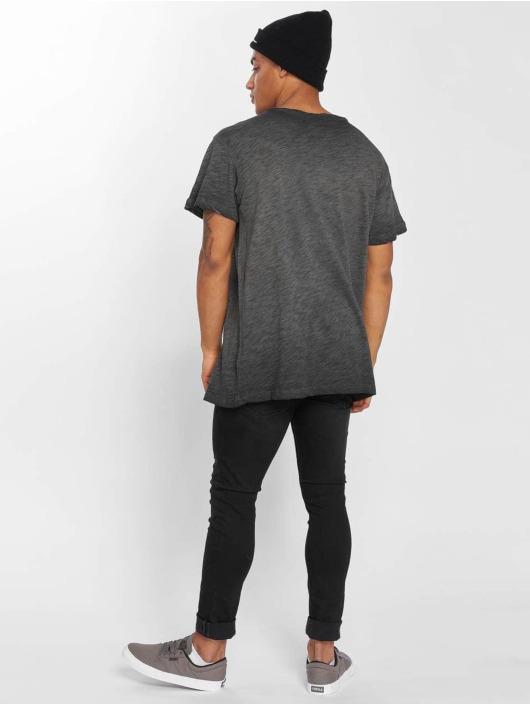Urban Classics T-Shirty Cold Dye czarny