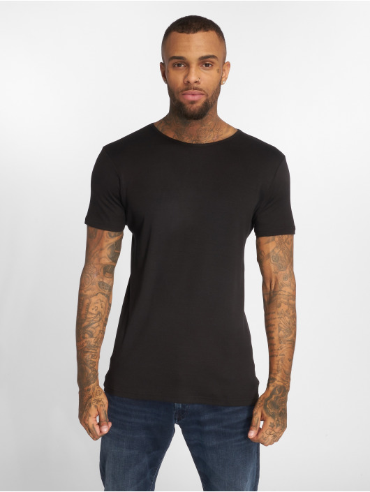 Urban Classics T-Shirty 2-Pack Seamless czarny