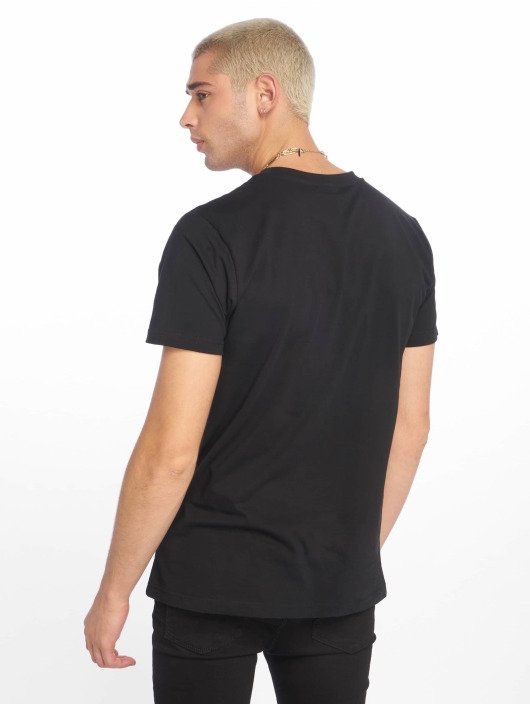 Urban Classics T-Shirty Arrow Panel czarny