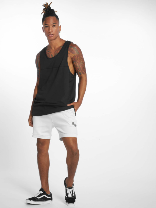 Urban Classics T-Shirty Mesh Panel czarny