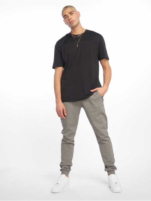 Urban Classics T-Shirty Mesh Panel czarny