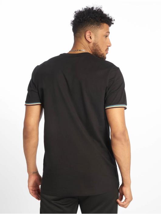 Urban Classics T-Shirty Rib Ringer czarny