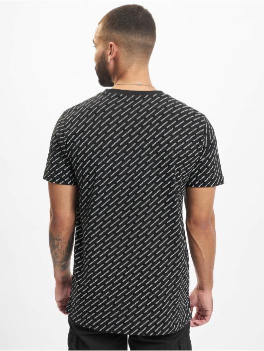 Urban Classics T-Shirty Allover Logo czarny