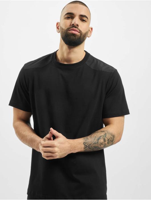 Urban Classics T-Shirty Military czarny