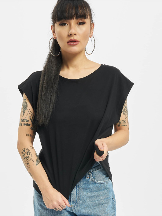 Urban Classics T-Shirty Basic Shaped czarny