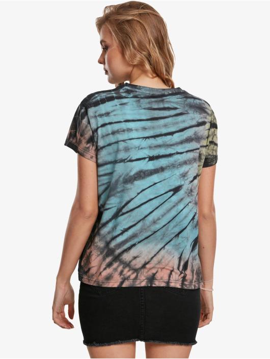 Urban Classics T-Shirty Tie Dye Boyfriend czarny