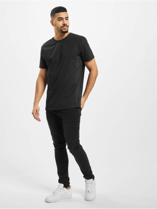 Urban Classics T-Shirty Military Muscle czarny