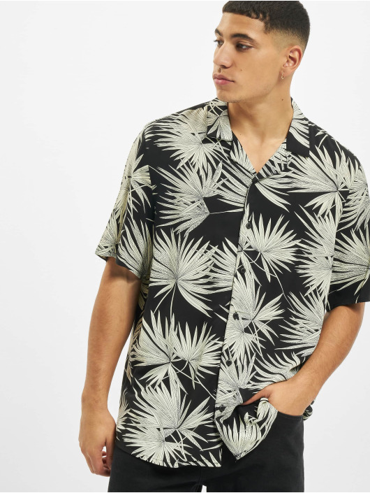 Urban Classics T-Shirty Frond Resort czarny
