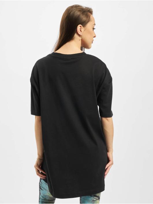 Urban Classics T-Shirty Ladies Oversized Boyfriend czarny