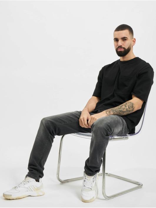 Urban Classics T-Shirty Heavy Boxy Pocket Tee czarny