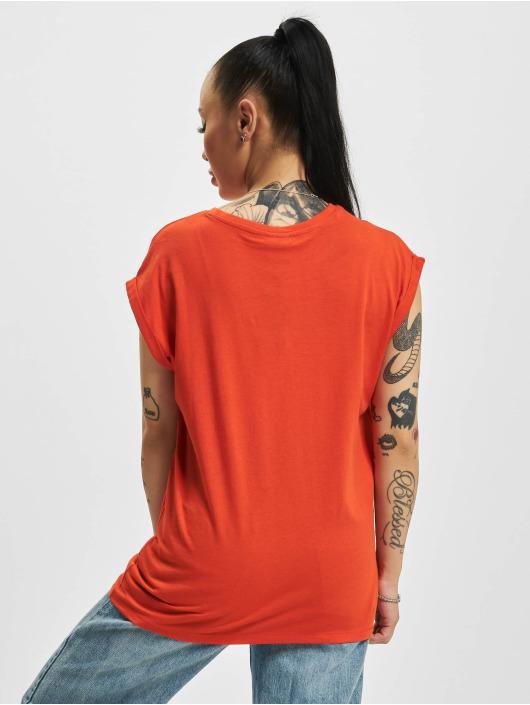 Urban Classics T-Shirty Extended Shoulder czerwony