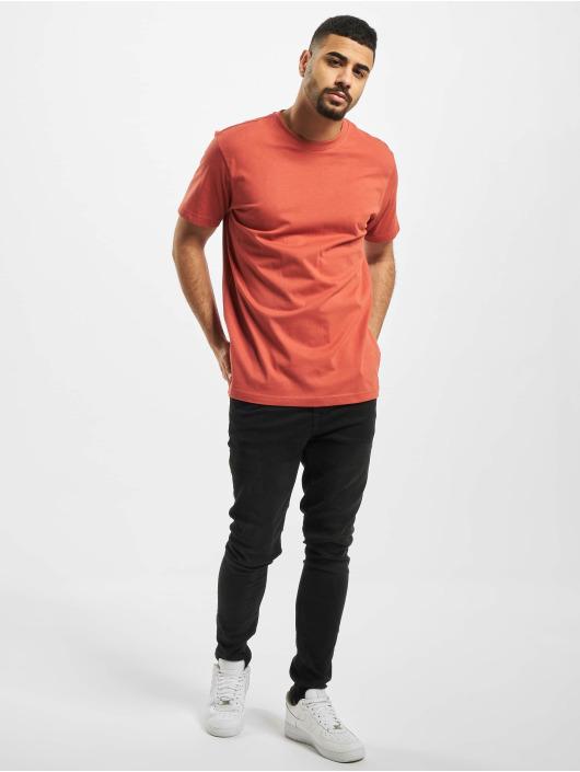 Urban Classics T-Shirty Basic czerwony