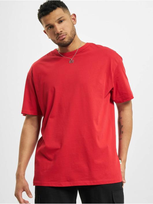 Urban Classics T-Shirty Organic Basic czerwony