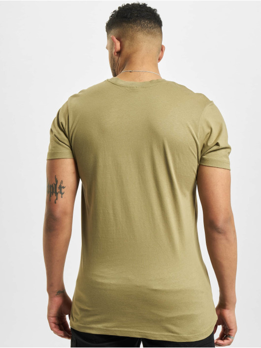 Urban Classics T-Shirty Basic khaki