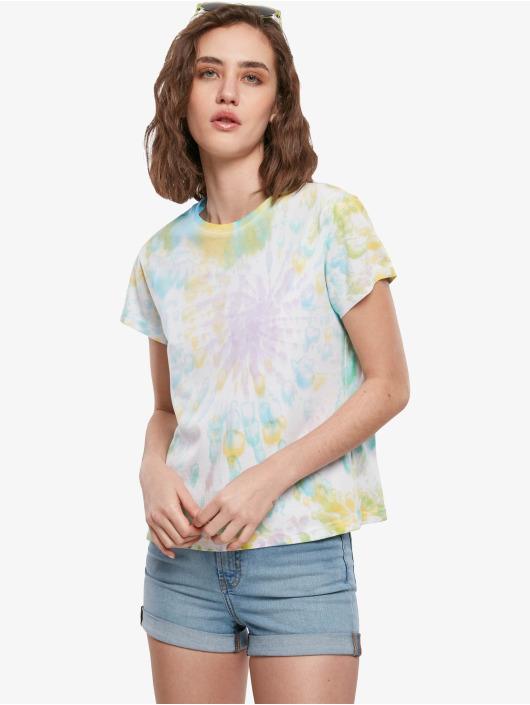 Urban Classics T-Shirty Tie Dye Boyfriend kolorowy