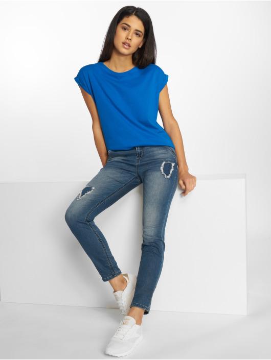 Urban Classics T-Shirty Extended niebieski