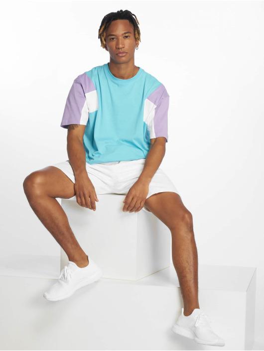 Urban Classics T-Shirty 3-Tone niebieski