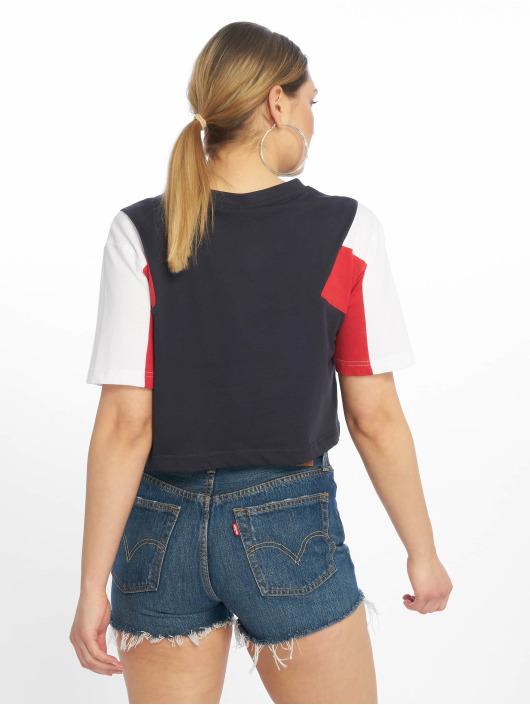 Urban Classics T-Shirty 3-Tone Short Oversize niebieski