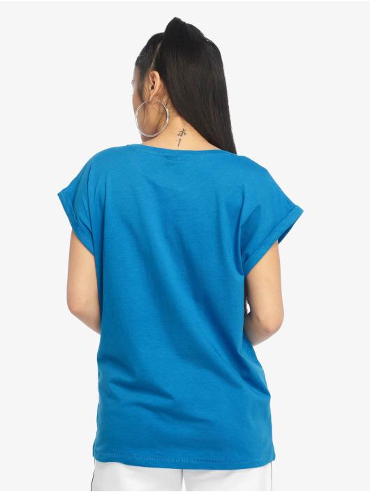 Urban Classics T-Shirty Classics Extended niebieski