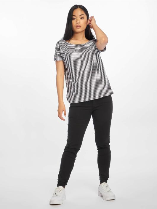 Urban Classics T-Shirty Yarn Dyed Baby Stripe niebieski