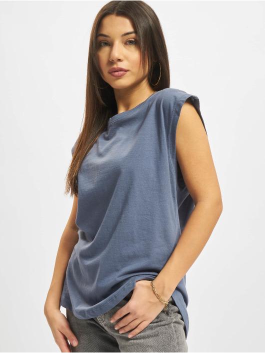 Urban Classics T-Shirty Basic Shaped niebieski