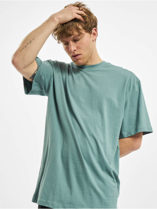 Urban Classics T-Shirty Tall niebieski