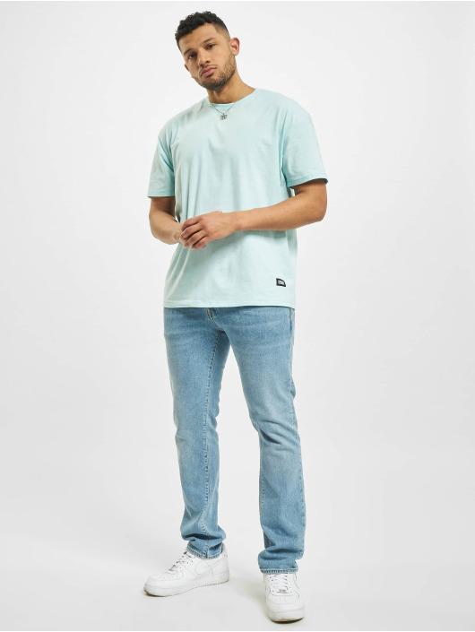 Urban Classics T-Shirty Oversize niebieski