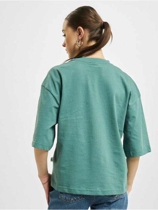 Urban Classics T-Shirty Organic Oversized niebieski