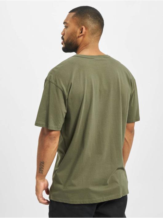 Urban Classics T-Shirty Oversized oliwkowy