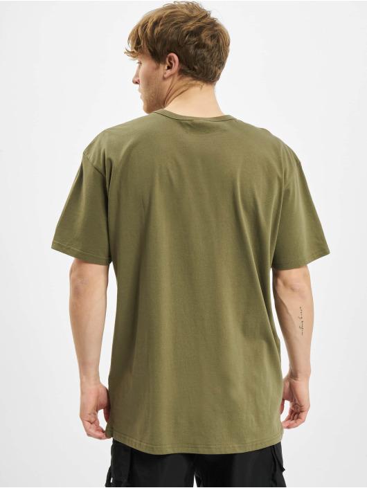Urban Classics T-Shirty Organic Basic Tee oliwkowy