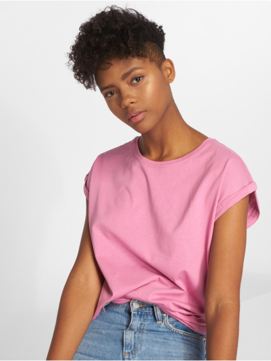 Urban Classics T-Shirty Extended pink