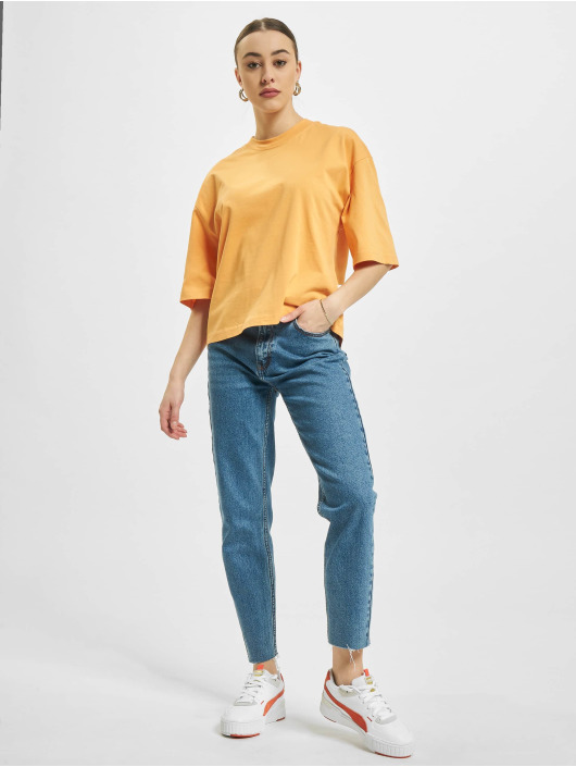 Urban Classics T-Shirty Organic Oversized pomaranczowy