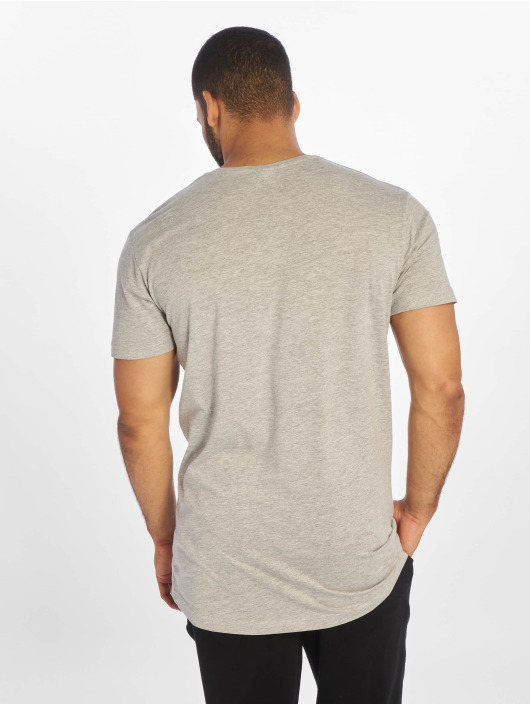 Urban Classics T-Shirty Shaped Long szary