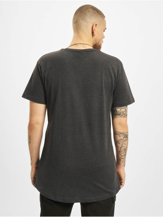 Urban Classics T-Shirty Shaped Long szary