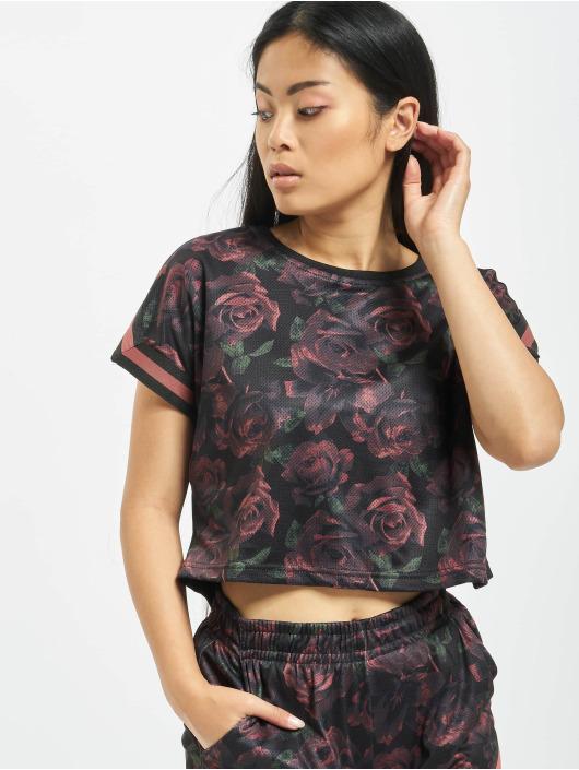 Urban Classics T-Shirty Stripes Mesh szary