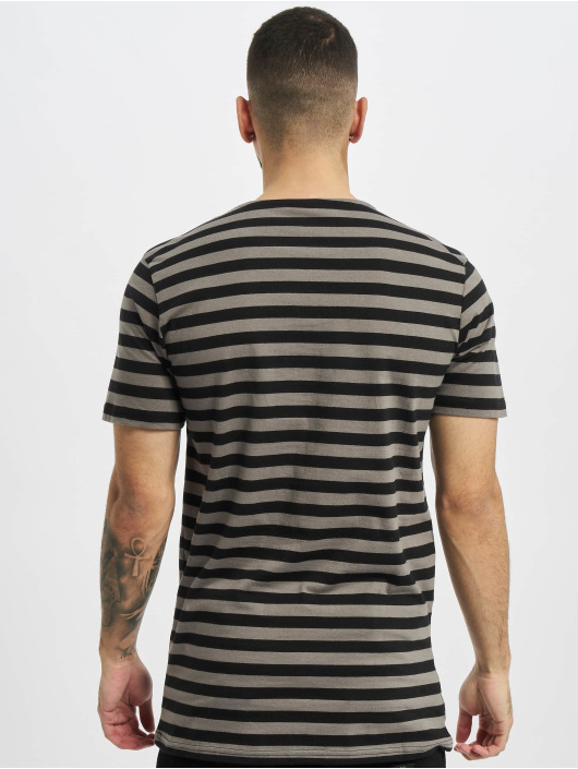 Urban Classics T-Shirty Stripe Tee szary