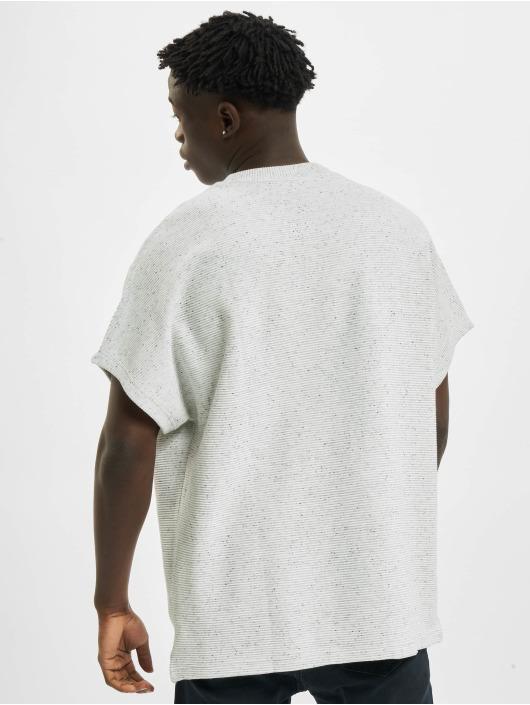 Urban Classics T-Shirty Cut On Sleeve Naps Interlock Tee szary