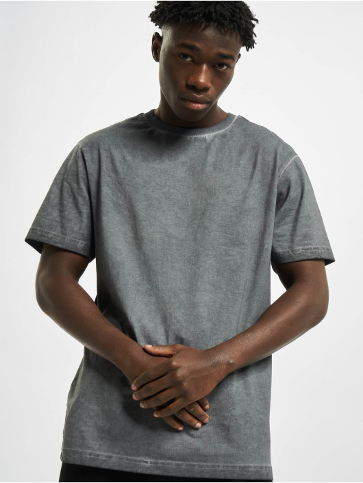Urban Classics T-Shirty Grunge Tee szary