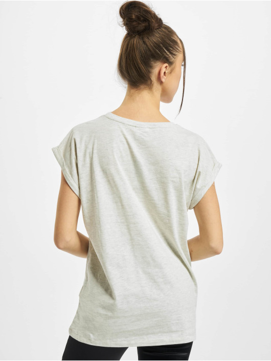 Urban Classics T-Shirty Ladies Extended Shoulder szary