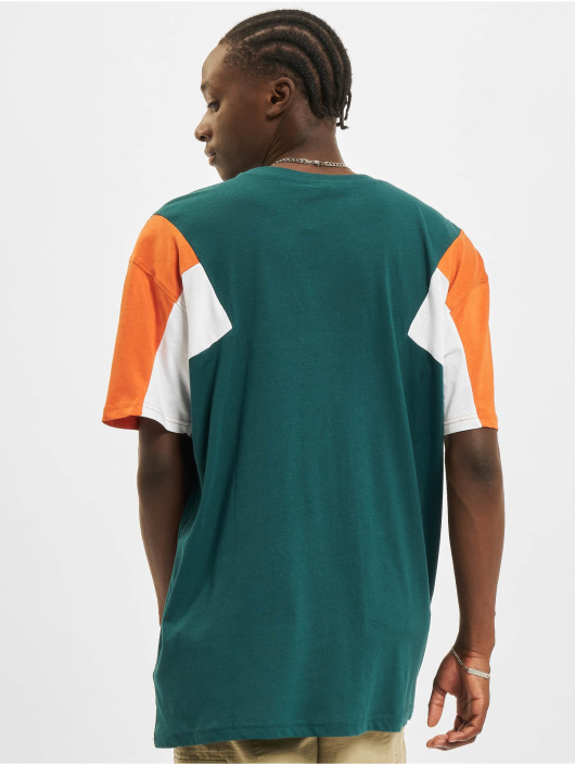 Urban Classics T-Shirty 3-Tone zielony