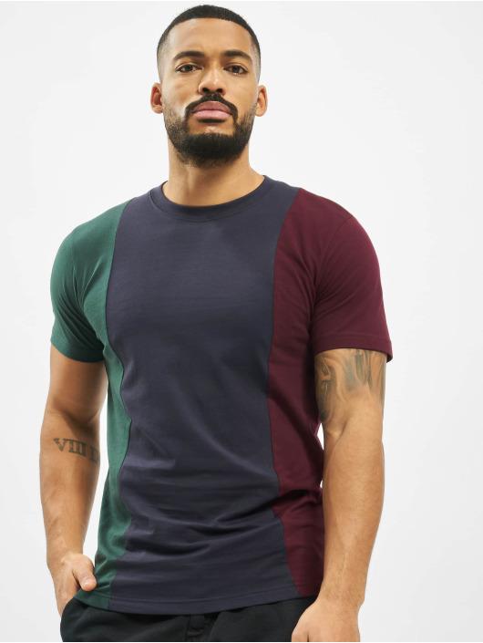 Urban Classics T-Shirty Tripple zielony