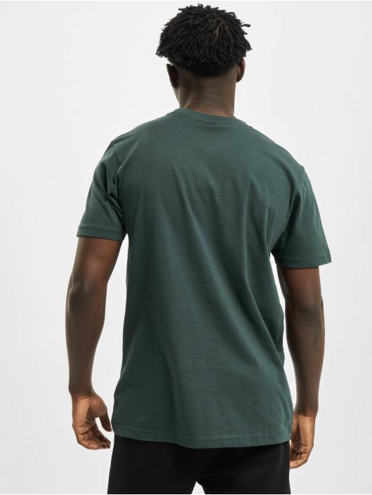 Urban Classics T-Shirty Basic Pocket zielony