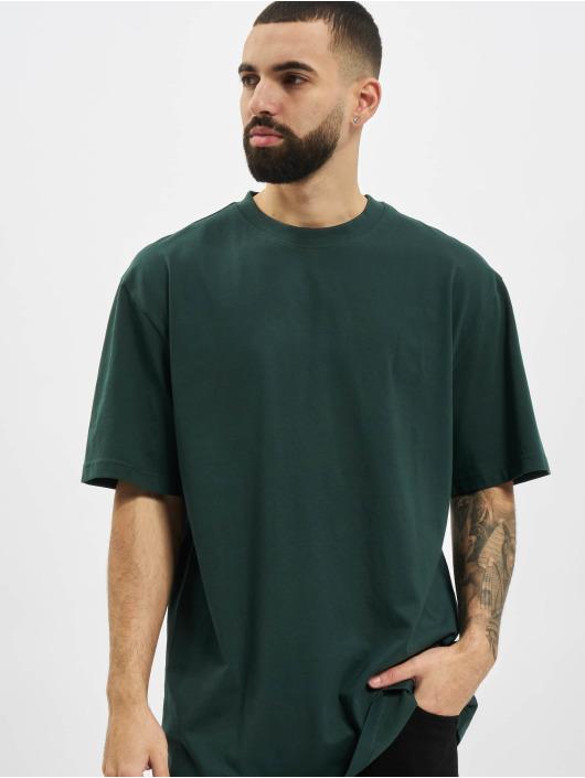 Urban Classics T-Shirty Tall zielony
