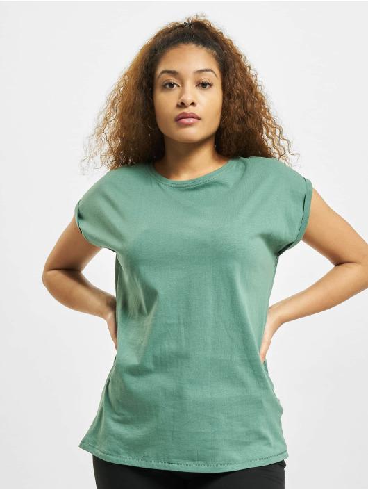 Urban Classics T-Shirty Extended Shoulder zólty