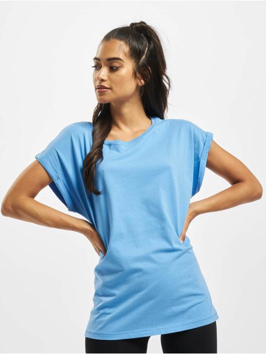 Urban Classics T-skjorter Extended Shoulder blå