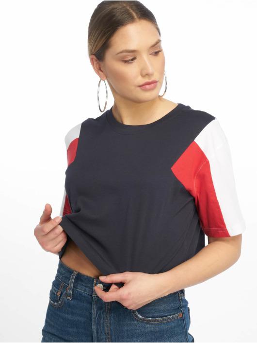 Urban Classics T-skjorter 3-Tone Short Oversize blå
