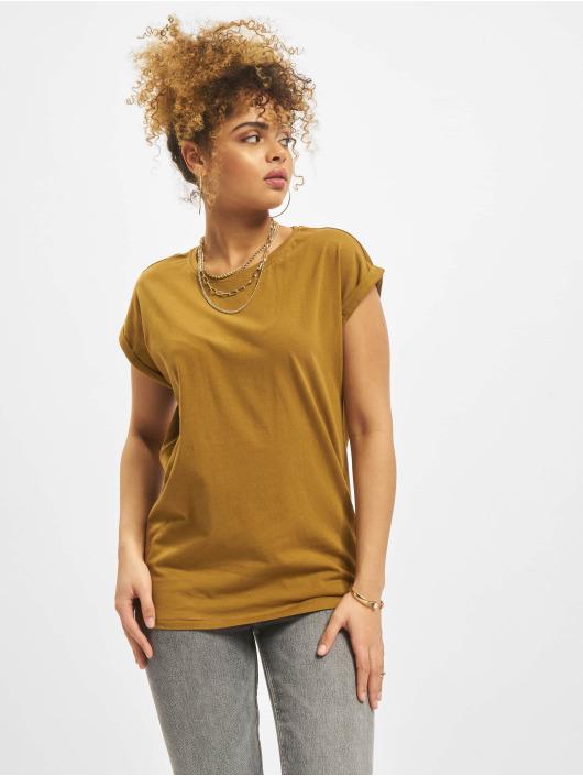 Urban Classics T-skjorter Extended brun